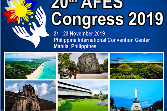 Teaser Video – 20th AFES Congress 2019