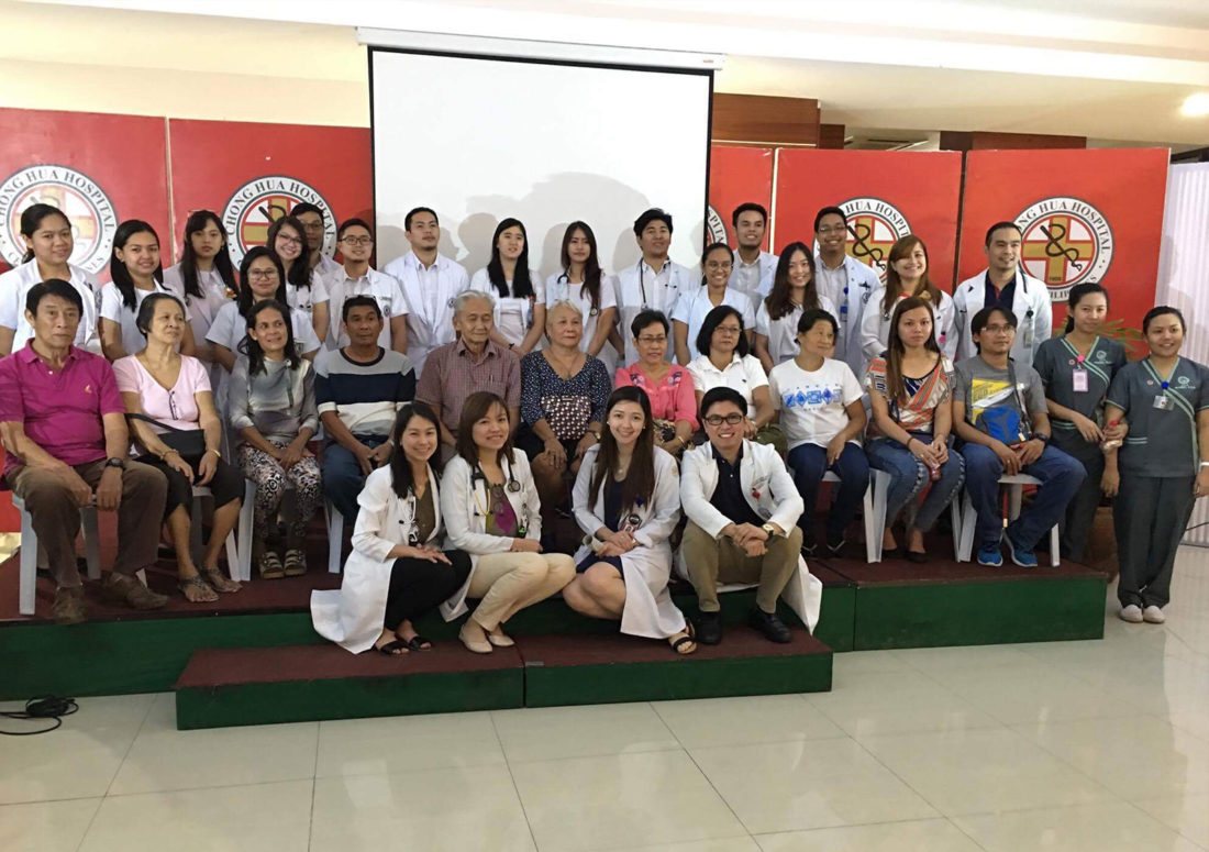 The current Fellows-in-Training 2018-2019 of the Section of Endocrinology-Chong Hua Hospital (L-R: Dr. Alta Damalerio, Dr. Aurabelle Libutan, Dr. Alistair Dela Cruz, Dr. Mae Rhea Lim-Pacoli, Dr. Arriza Soria)