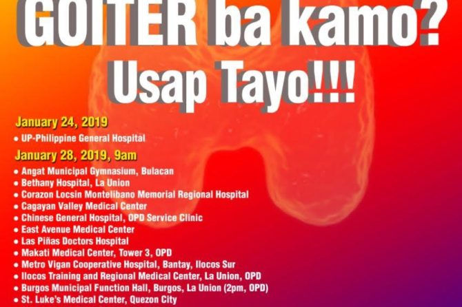 2019 Goiter Awareness Week