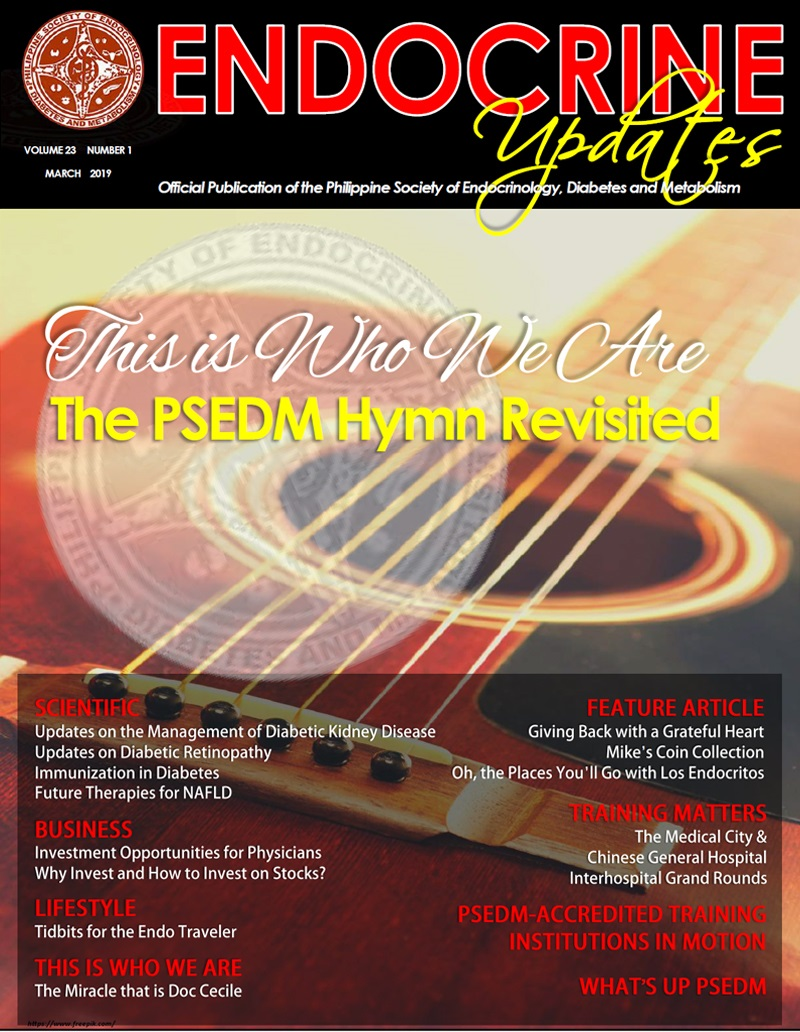 Endocrine Updates - March 2019 - Philippine Society of Endocrinology